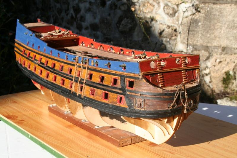 L'Ambitieux  un des navires de Tourville par michaud - Page 4 Img_6423