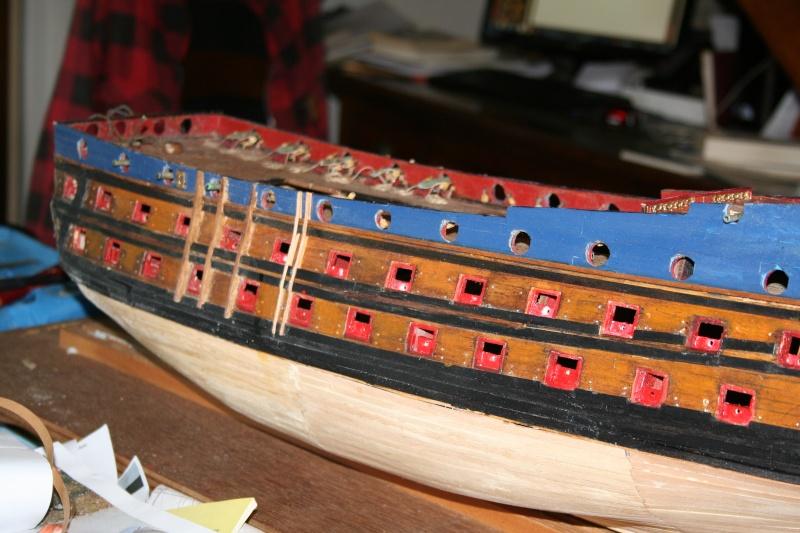 L'Ambitieux  un des navires de Tourville par michaud - Page 4 Img_6746
