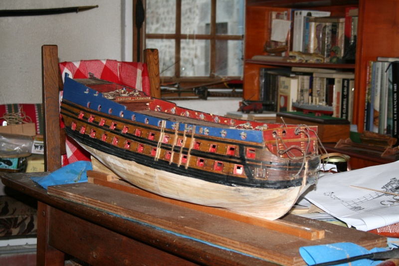 L'Ambitieux  un des navires de Tourville par michaud - Page 4 Img_6749