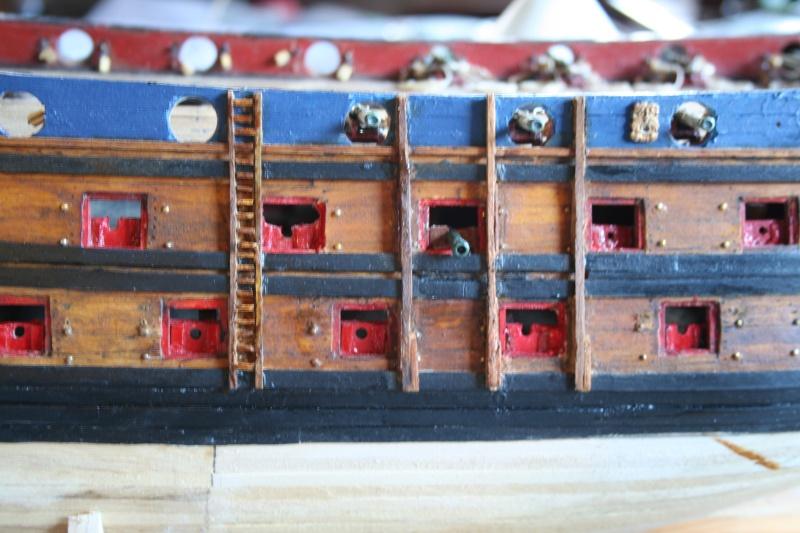 L'Ambitieux  un des navires de Tourville par michaud - Page 5 Img_6811