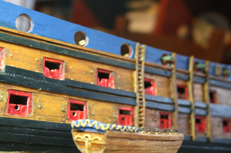 L'Ambitieux  un des navires de Tourville par michaud - Page 5 Img_6826