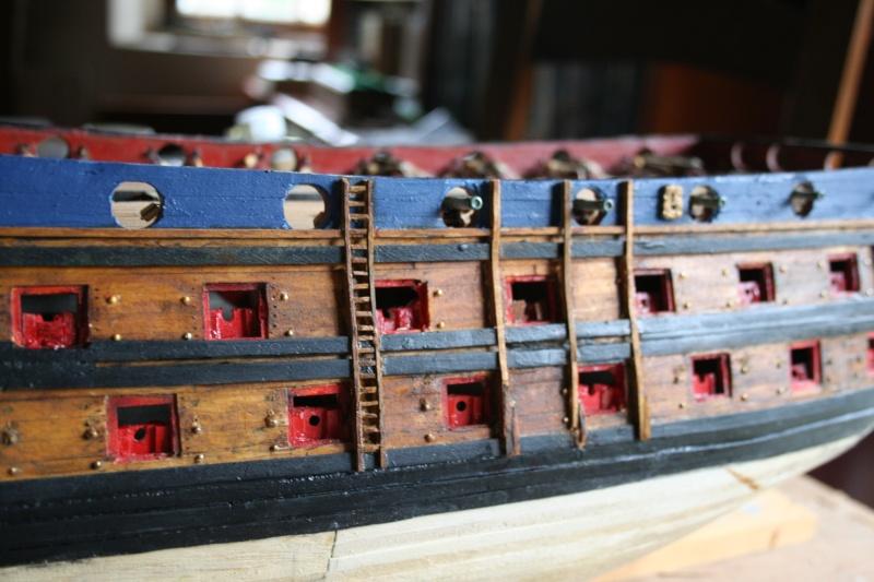L'Ambitieux  un des navires de Tourville par michaud - Page 5 Img_6840