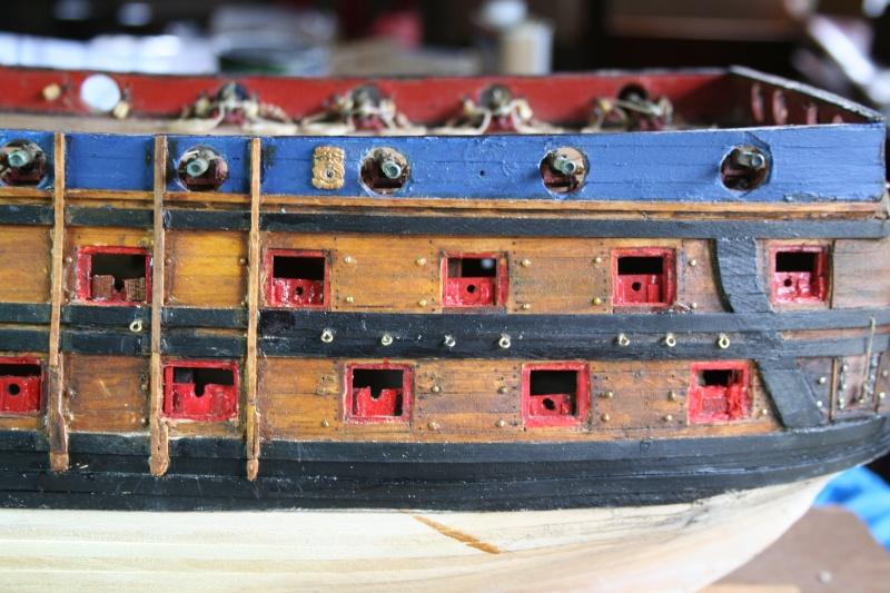 L'Ambitieux  un des navires de Tourville par michaud - Page 6 Img_6863