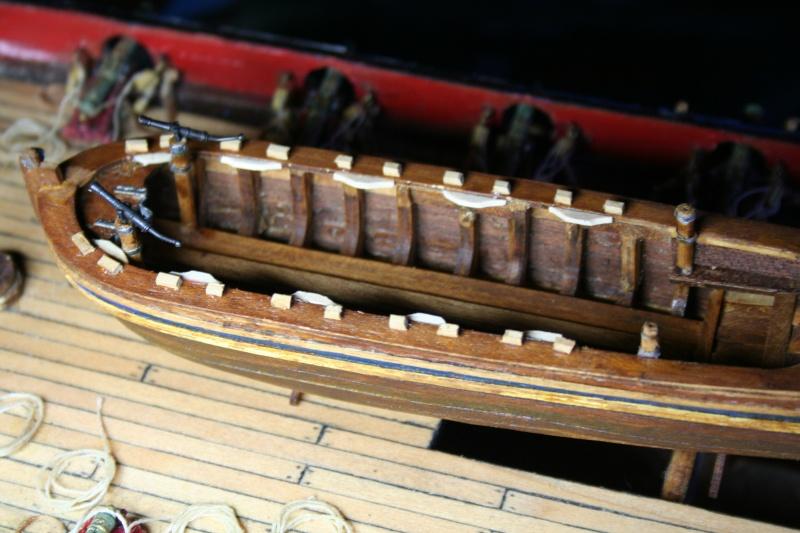 L'Ambitieux  un des navires de Tourville par michaud - Page 6 Img_6917