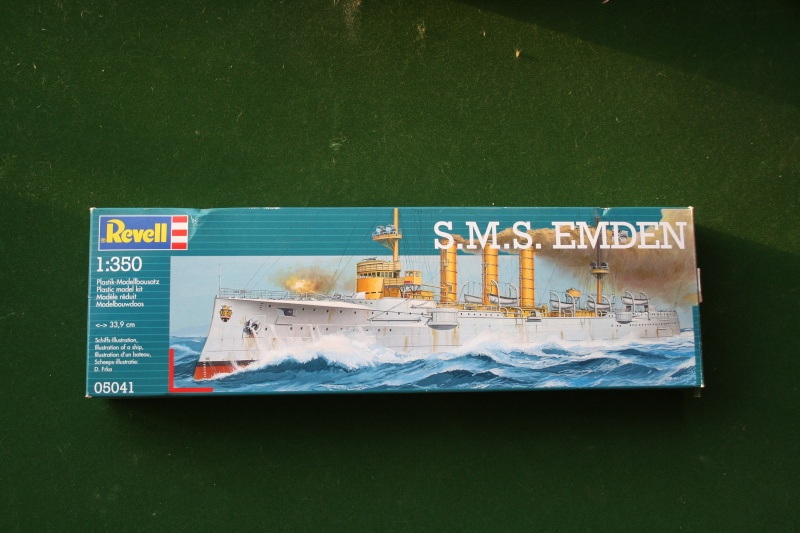 SMS Emden ( 1908) au 1/350 de Revell par Michaud Photo_13
