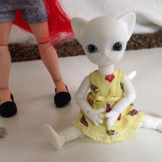 Turning a Makie into a BJD! Meow_110