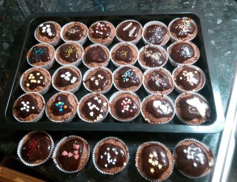 Sachertorte-Muffins Sacher10