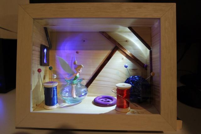 Diorama clochette 00110