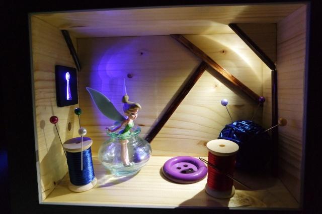 Diorama clochette 00310