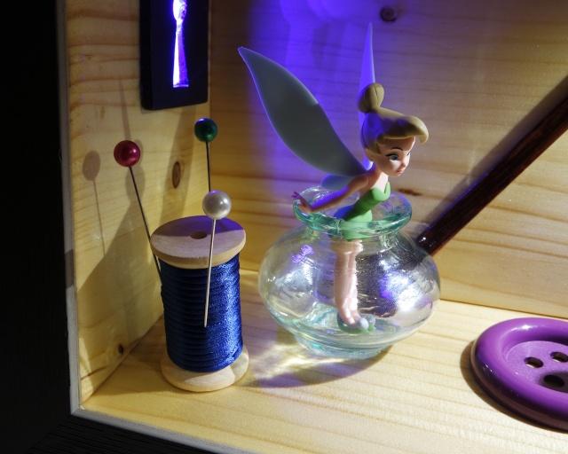 Diorama clochette 00410