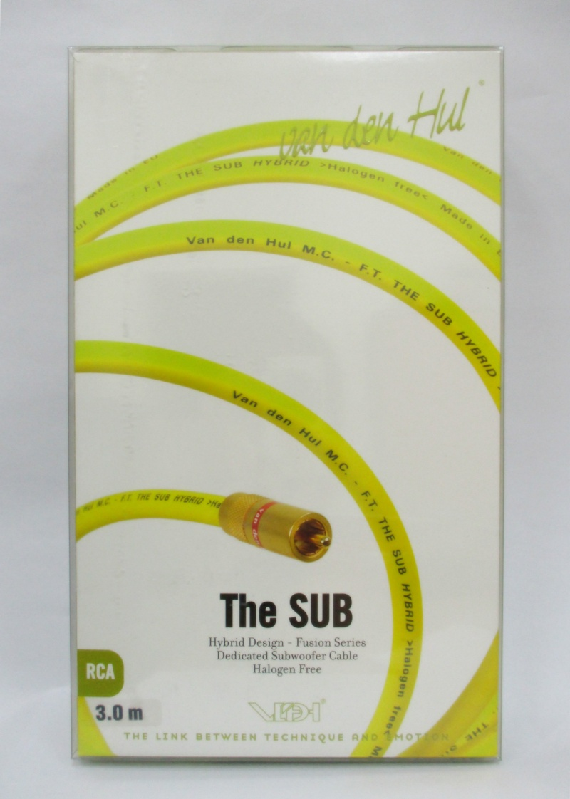 Van Den Hul Subwoofer Cable - The Sub Hybrid (Halogen Free) (New) Img_0012