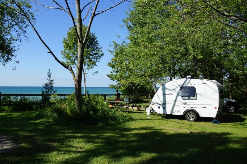 Parc Provincial Darlington, Lac Ontario, Ontario Dsc02010