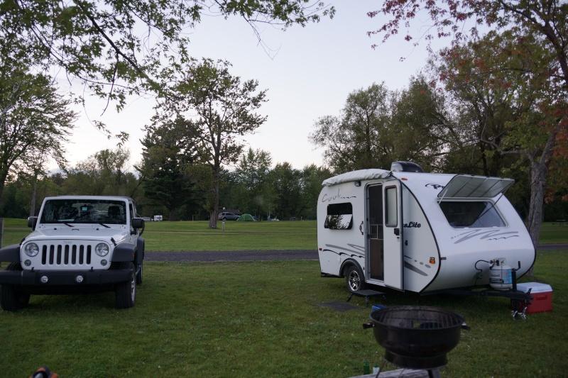 Terrain de camping Riverside-Cedar, Upper Canada Village Dsc02111