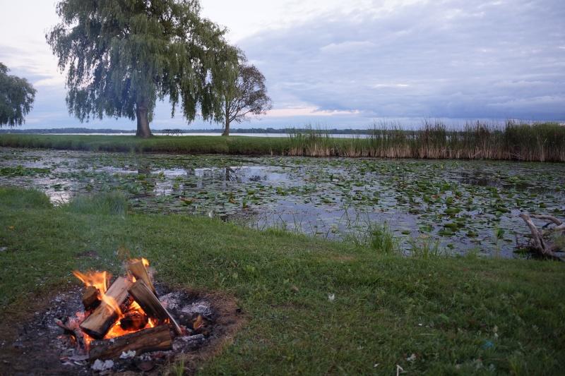 Terrain de camping Riverside-Cedar, Upper Canada Village Dsc02112