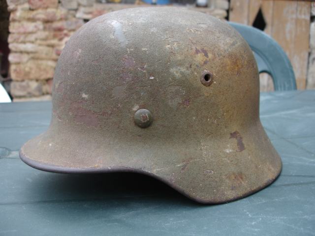 Avis sur ce casque allemand camouflé. Dsc07010