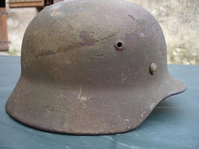 Avis sur ce casque allemand camouflé. Dsc07011