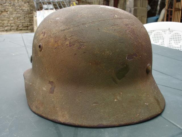 Avis sur ce casque allemand camouflé. Dsc07013