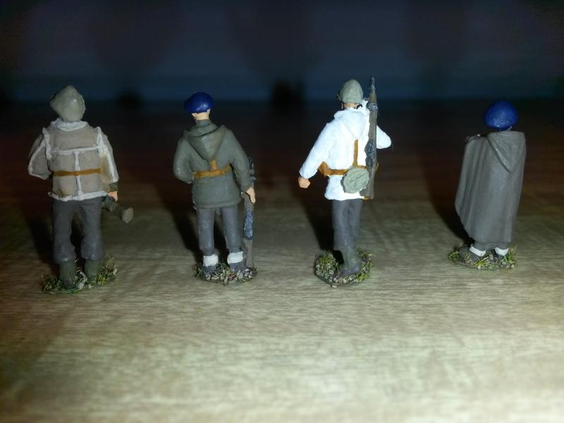 Chasseurs alpins du CEFS au 1/72, Figurines Rétrokit 20151221