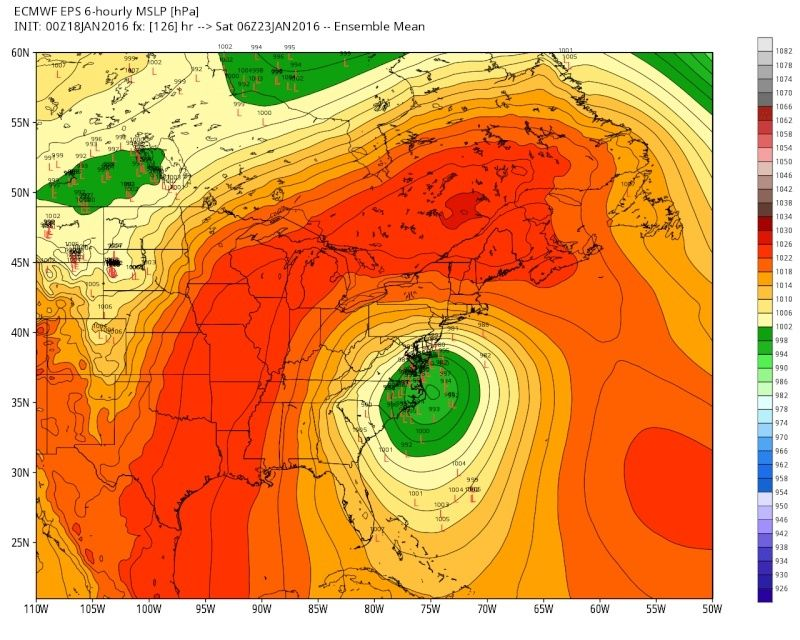 01/22/16-01/23/16 Update #1 - Historic Storm Possible - Page 6 Eps_sl10