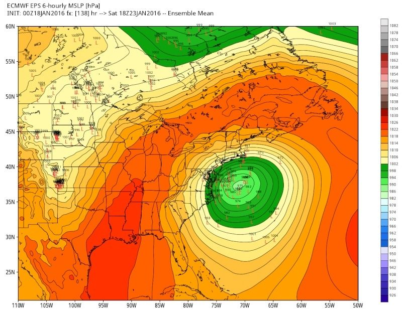01/22/16-01/23/16 Update #1 - Historic Storm Possible - Page 6 Eps_sl12