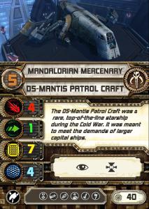 DS-5 Mantis Old Republic D5-man11