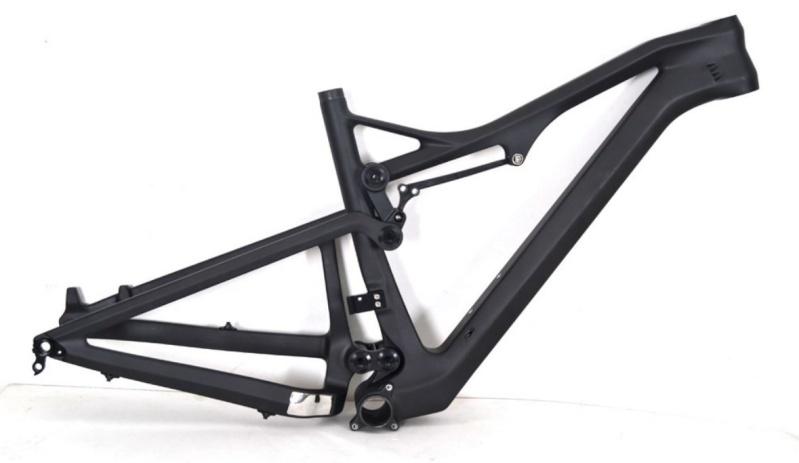 Cadre carbone JANDRI 150 par Alpes Cycles (85250 Saint Fulgent) 2015-125