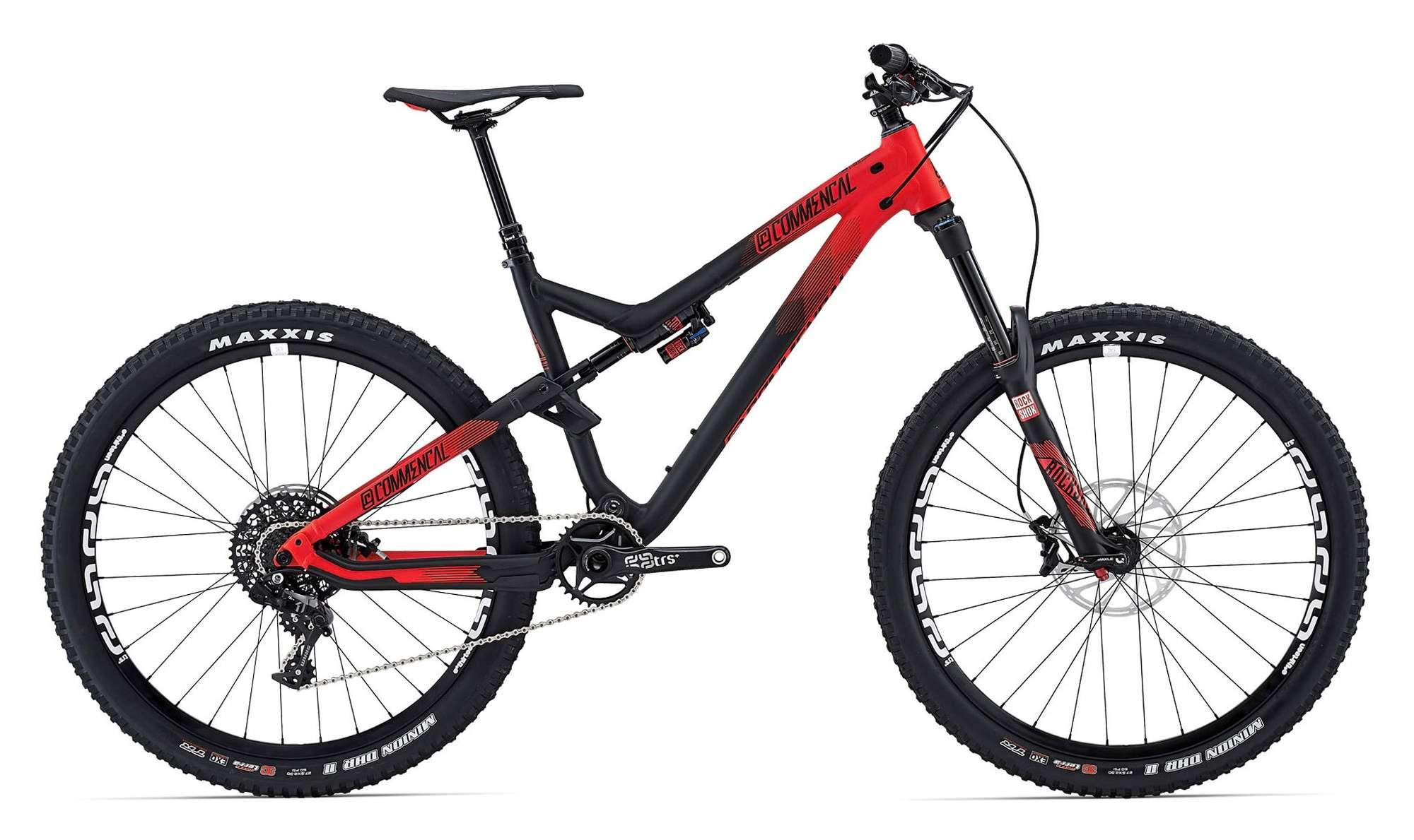 Les vélos Commencal Commen10