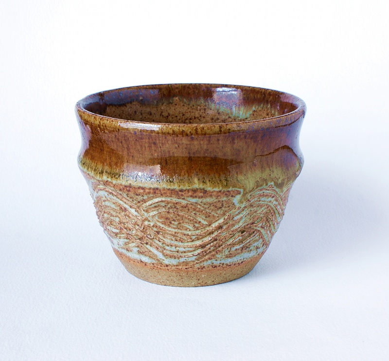 Studio Pottery Bowl: Unknown Marks. Dsc01817