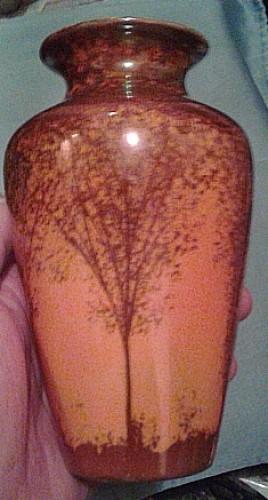 lustreware trees vase Waterm24