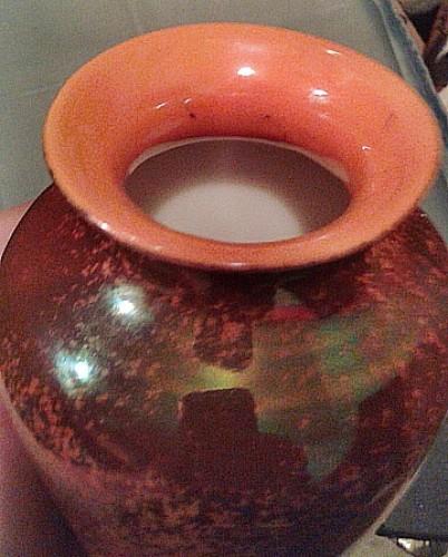 lustreware trees vase Waterm26