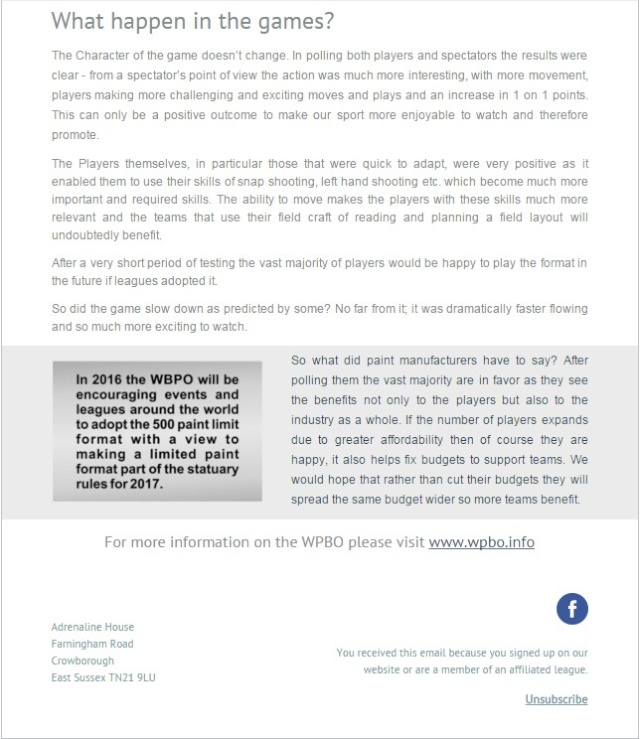 WPBO: Format M500 M500_210