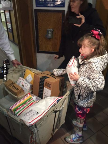 Christmas Cards for a Little Girl  A7bj3e10