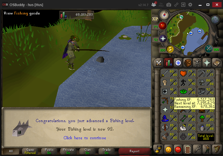 Hus' progress thread Fishin12