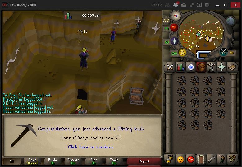 Hus' progress thread Mining12