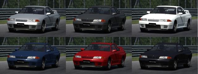 Nissan Skyline GT-R BNR32 Color10