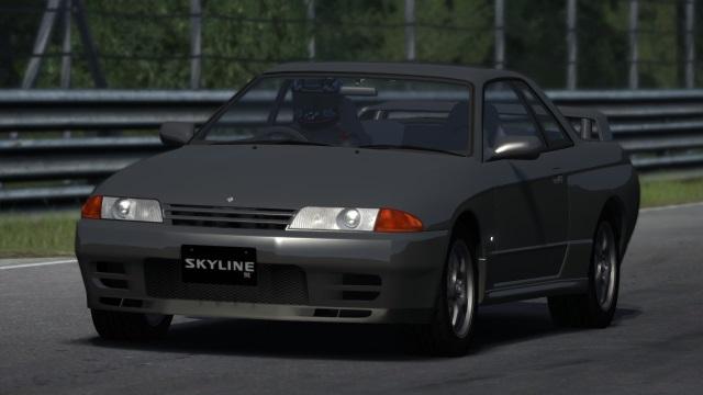 Nissan Skyline GT-R BNR32 Gunmet10