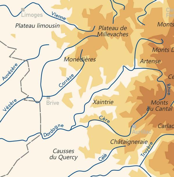 2.1.4. L'exemple du bassin de BRIVE (Corrèze). Carte_15