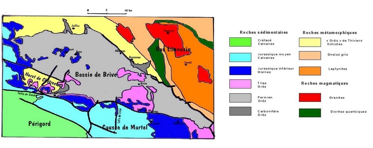 2.1.4. L'exemple du bassin de BRIVE (Corrèze). Gyolog11
