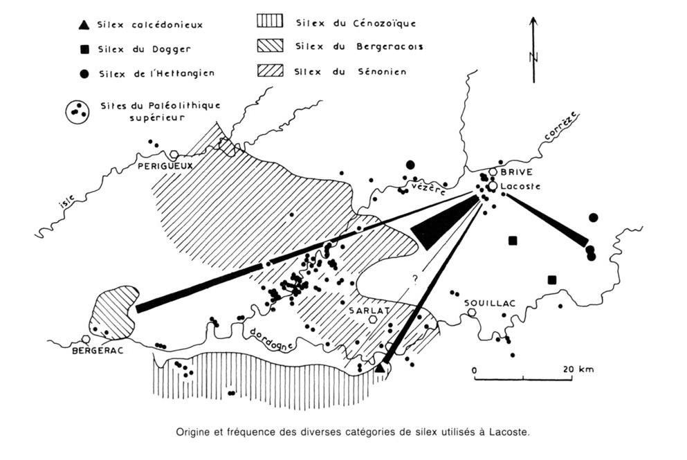 2.1.4. L'exemple du bassin de BRIVE (Corrèze). Lacost10