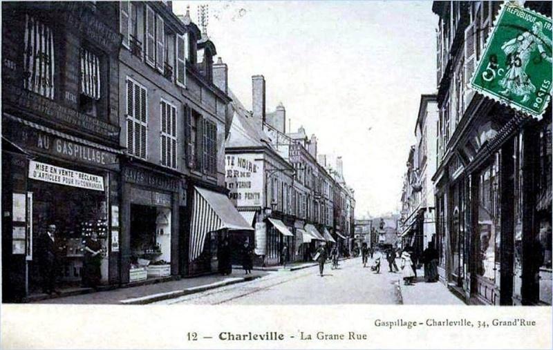 Charleville Mézières, et ses cartes postales anciennes 12279011