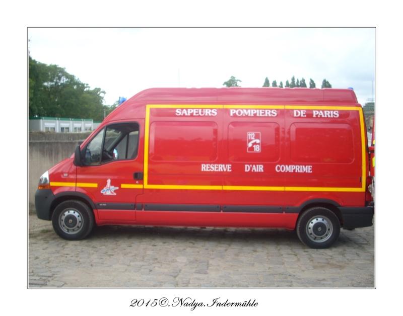 Paris, et ses pompiers Cadre391