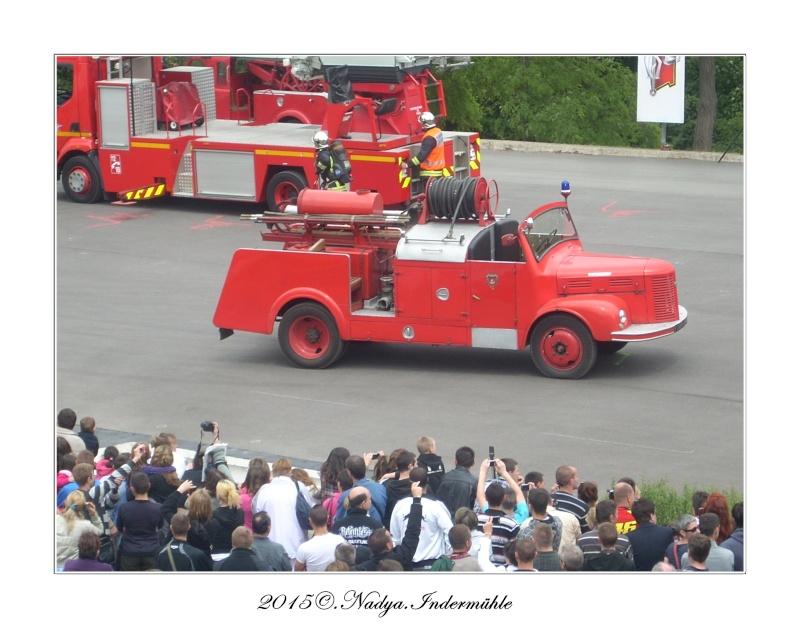 Paris, et ses pompiers Cadre394