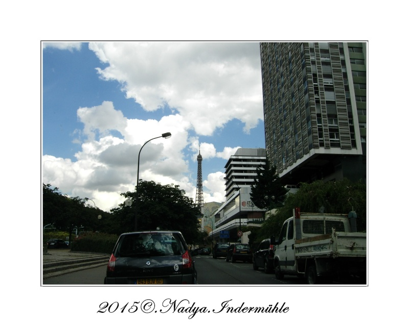 Paris et sa Tour Eiffel Cadrer85
