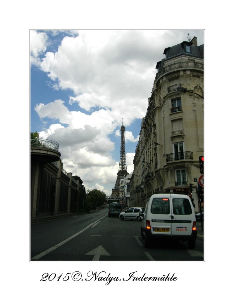 Paris et sa Tour Eiffel Cadrer86