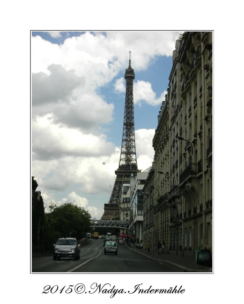 Paris et sa Tour Eiffel Cadrer87