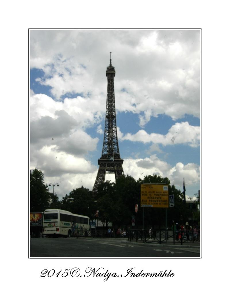 Paris et sa Tour Eiffel Cadrer89