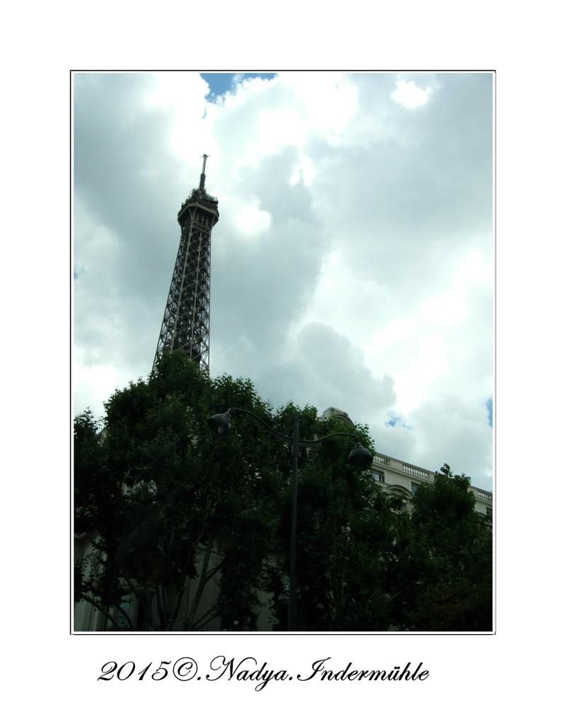 Paris et sa Tour Eiffel Cadrer90