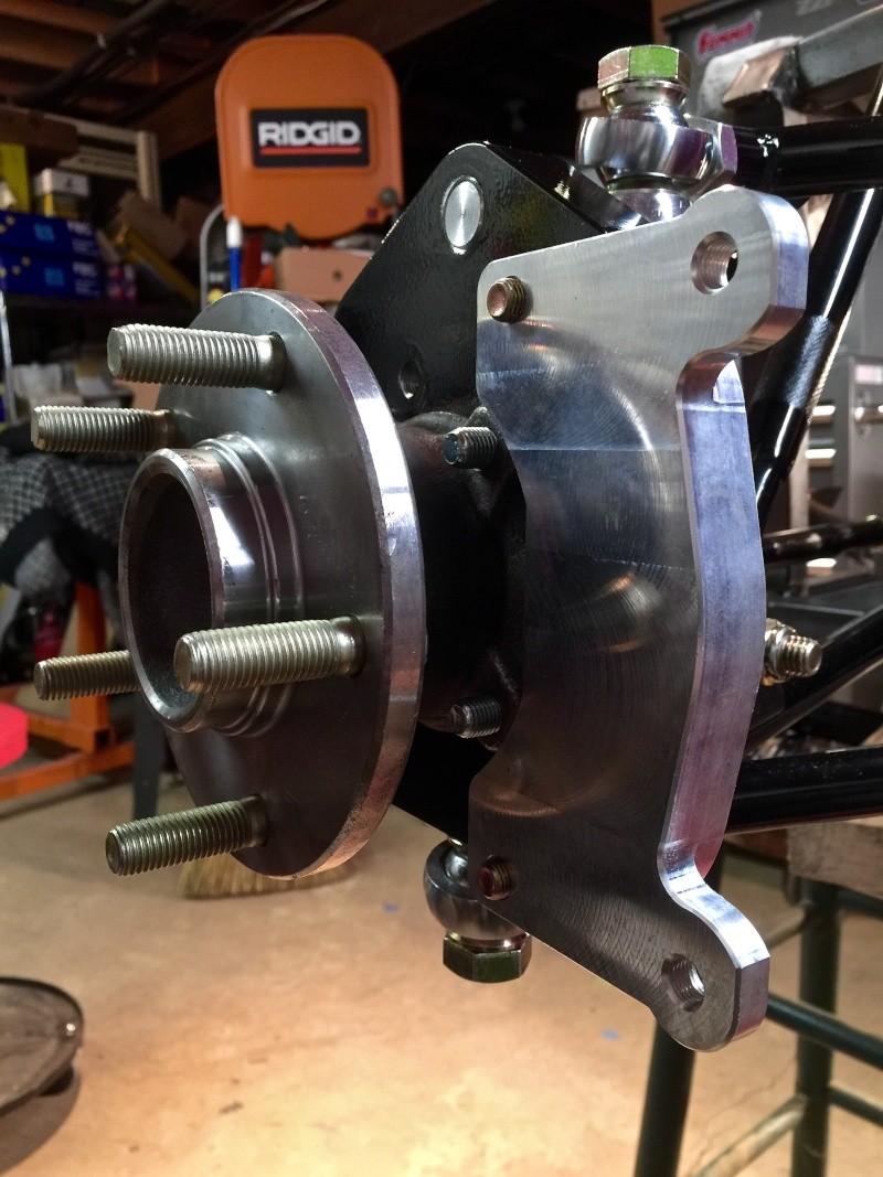 Classic R #27 Build - Hubs, Calipers, Flexible Brake Hoses Calipe12