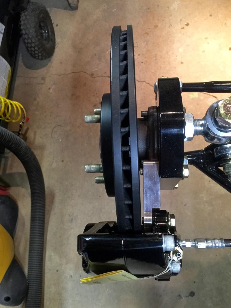 Classic R #27 Build - Hubs, Calipers, Flexible Brake Hoses Calipe15