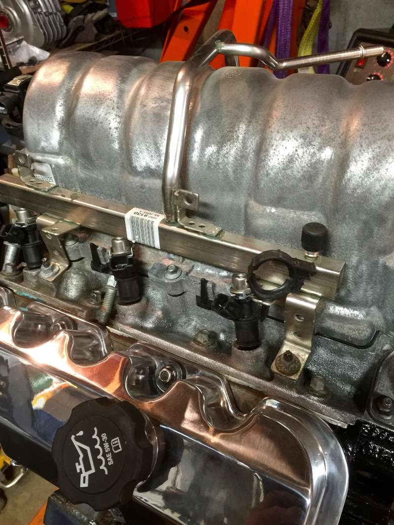 Classic R #27 Build - Throttle Body and Engine Dry Fit Fuel-i12
